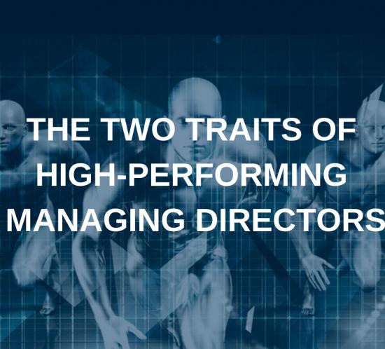 high performing managing directors