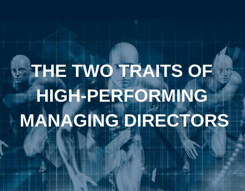 high performing managing directors